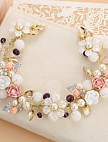 Women's Crystal Headpiece-Wedding Headbands 1 Piece Pink