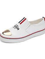 Белый-Для мужчин-Для прогулок Повседневный Для занятий спортом-Полотно-На плоской подошве-Удобная обувь-Кеды
