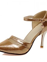 Women's Heels Spring / Summer / Fall Heels / Round Toe Synthetic / Patent Leather / LeatheretteWedding