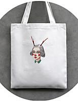 Women PU / Canvas Casual / Outdoor Shoulder Bag