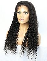 красивый глубокий фигурные 8-24 дюймов шнурка человеческих волос передний / полный парик шнурка с естественной линии роста волос