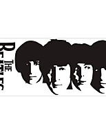 Fashion The Beatles 2 Pattern PVC Bathroom or Bedroom or Glass Wall Sticker Home Decor