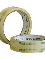 DELI Office Supplies, Transparent Adhesive Tape, Adhesive Tape, Glass Adhesive, 2.4mm*30m