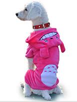 honden Hoodies Bruin / Grijs / Roos Hondenkleding Winter / Lente/Herfst Effen / Dieren Casual/Dagelijks Other
