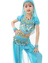 Accesorios(Fucsia / Azul claro / Verde claro / Naranja / Morado / Azul Rey / Amarillo,Gasa Satén / Poliéster,Danza del Vientre) -Danza