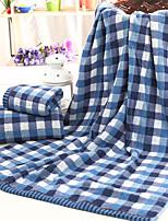 Serviette de bain-Fil teint- en100% Coton-60*120cm(23