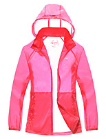 Hiking Tops Women's Quick Dry / Sunscreen Spring / Summer Terylene S / M / L / XL Leisure Sports-Sports