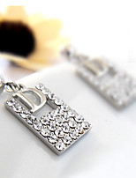 Earring Square Jewelry 1 pair Fashionable Alloy Gold / Silver Daily / Casual