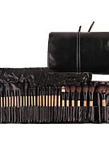 Professional 32 pcs Makeup Brushes Set For Women Fashion Soft Face Lip Eyebrow Shadow Makeup Brush Set Kit + Pouch Bag