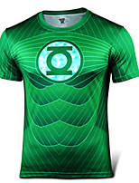 Running T-shirt / Sweatshirt Men's Short Sleeve Breathable / Quick Dry / Reflective Strips / Sweat-wicking  LYCRA