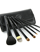 7Pcs Animal Hair Makeup Brush Sets