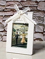 7-Inch Plastic Windmill Pastoral Creative Wedding Photo Frame Children Photo Frame Swing Sets