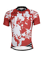 PALADIN® Cycling Jersey Men's Short Sleeve BikeBreathable / Quick Dry / Ultraviolet Resistant / Reflective Strips / Back Pocket / Reduces