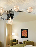 Ceiling Light Modern Living Bulbs Included 6 Lights /Characteristics of modern minimalism,modern style characterized by