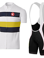 KEIYUEM®Summer Cycling Jersey Short Sleeves + BIB Shorts Ropa Ciclismo Cycling Clothing Suits #K133