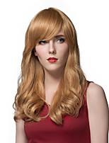 Glamorous  Long Wavy Human Hair Wigs For Women