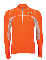 Sports Bike/Cycling Tops Men's Long Sleeve Breathable /Windproof / Ultra Light Fabric / Thermal / Warm LYCRA® / Terylene