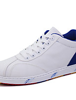 Men's Sneakers Spring/Summer / Fall / Winter Comfort Canvas Athletic / Casual Flat Heel Black/Blue/White Sneaker