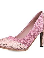 Women's Heels Heels / Round Toe Glitter / Customized Materials Wedding / Party & Evening / Dress Stiletto Heel