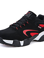 Men's Sneakers Spring / Fall Comfort Tulle Casual Flat Heel  Blue / Black and Red / Black and White Sneaker