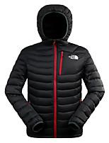 The North Face Men's Down Hoodie Jacket Outdoor Sports Trekking Camping Hiking Waterproof Windproof Full Zipper Jackets