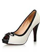 Women's Shoes Patent Leather Heels / Peep Toe / Platform / Styles Heels Wedding / Party & Evening / Dress