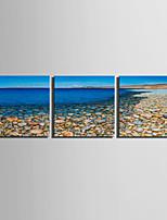 toile set Paysage Style européen,Trois Panneaux Toile Carré Imprimer Art Décoration murale For Décoration d'intérieur