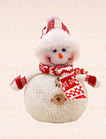 1pc Hat Snowman Pendant Christmas Tree Decoration Xmas Party Supplies