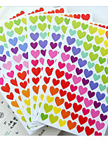 South Korea FUNNY Love Stickers Color Dots / Love / Star Decorative Sticker Album