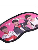 The New Star Cloth + Ice Patch Tfboys Eye Mask Can Unpick And Wash With A Practical And Convenient