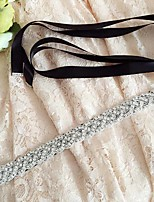 Satijn Huwelijk / Feest/Uitgaan / Dagelijks gebruik Sjerp-Pailletten / Sierstenen / Strass Dames 98½In (250Cm)Pailletten / Sierstenen /