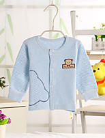 Girl's Casual/Daily Solid Blouse,Cotton Winter / Spring / Fall Blue / Brown / Pink / Gray