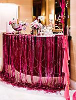 Plastica Decorazioni di nozze-1Piece / Set Palloncini Matrimonio Rustico Tema Rosso / Argento / Dorato Primavera Non personalizzatoColore