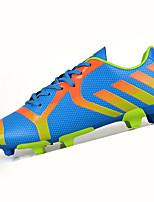 Sapatos Masculinos-Tênis-Preto / Azul / Verde / Prateado / Laranja-Tule / Couro Ecológico-Para Esporte