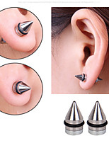 Earring Taper Shape Jewelry Women Fashion Daily / Casual Alloy 1pc Silver