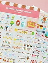 Paper Scrapbooking & Stamping 1set Stickers Multi Color