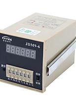 jdm9-4-6 / zyc09-4-6 / hhj4, tipo de display digital eletrônico instrumento preset