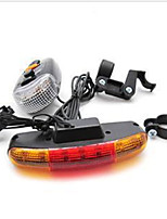 Bike Light,Bike Lights-1 Mode 100 Lumens Easy to Carry Otherx2 USB Cycling/Bike Black Bike