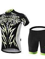 Malciklo Sports Bike/Cycling Clothing Sets/Suits Men's Short SleeveBreathable / High Breathability (15001g) / Quick Dry