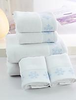 Set asciugamani da bagno- ConRicamato- DI100% cotone-64*127cm(25