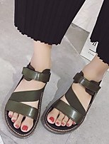 Women's Sandals Summer Sandals / Open Toe PU Casual Platform Others Black / Green Others
