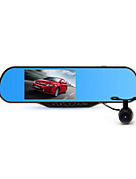 5 Inch Rear View Mirror 1080P HD Dual Lens Driving Recorder Android Navigation Electronic Dog Three In One New