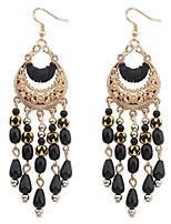 Bohemia Long Tassel Earrings Fashion Jewelry Water Drop Dangle Stetement Earrings For Women Bijoux d'oreille femme