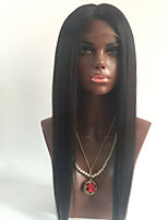 100% Human Hair Wigs Brazilian Virgin Hair Wigs Straight Style With Baby Hair Guleless Full Lace Wig For Black Women