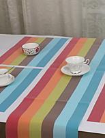 Plastique Rectangulaire Chemins de table