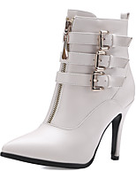 Women's Boots Spring / Fall / Winter Fashion Boots / Pointed Toe Party & Evening / Dress / Casual Stiletto Heel Buckle