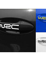 Exterior Decoration Stickers Car Stickers WRC Door Handle Paste Body Paste Affixed