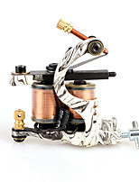 Handmade Shader Tattoo Machine 10 Coils Cast Iron Art Supply