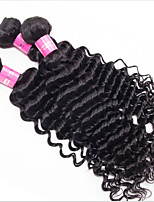8-12'' Brazilian Deep Wave Virgin Hair100% Brazilian Human Hair Weave Cheap Brazilian Curly Virgin Hair