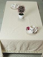 New Dandelion Cotton Cloth Tablecloths for Side Table (140 * 140cm)